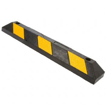 36 Inch rubber parking curb